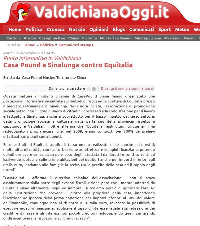 A sinalunga contro equitalia catenaccio - Diritto di abitazione su immobile in comproprieta ...